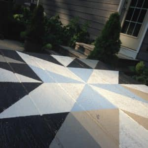 """Barn Quilt DIY -A project with a beginning and an end and a finished product that lasts for more than 20 minutes can do wonders for a girl. """"Move over kids. Mama's got a project."""""""