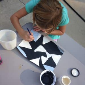 "Barn Quilt DIY- A project with a beginning and an end and a finished product that lasts for more than 20 minutes can do wonders for a girl. ""Move over kids. Mama's got a project."""