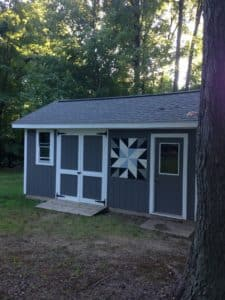 """Barn Quilt DIY-A project with a beginning and an end and a finished product that lasts for more than 20 minutes can do wonders for a girl. """"Move over kids. Mama's got a project."""""""