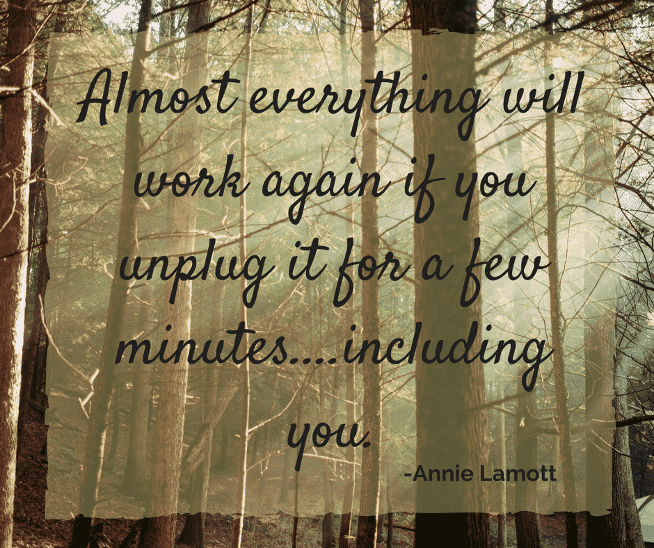 Almost everything will work if you unplug it for a few minutes.....including you.
