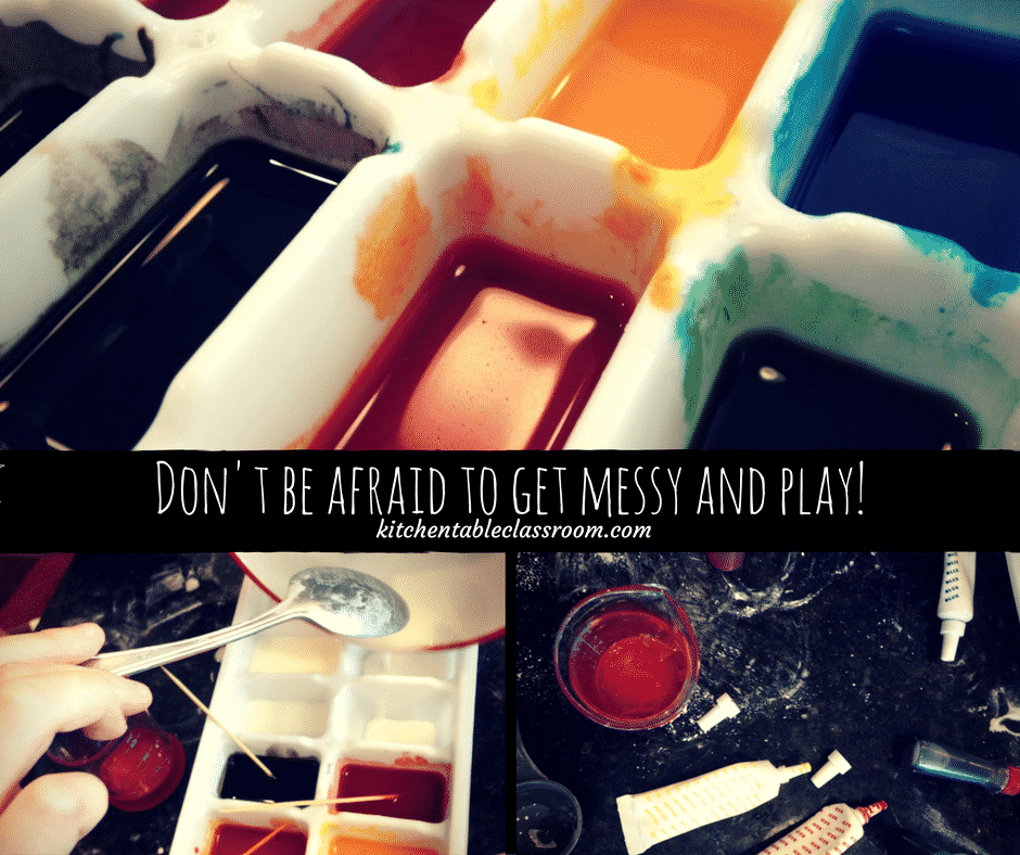 Homemade Watercolors. Who knew this was even a thing? Turns out it is and its awesome fun. You've got all the stuff in your kitchen so get out your measuring cups and get ready!