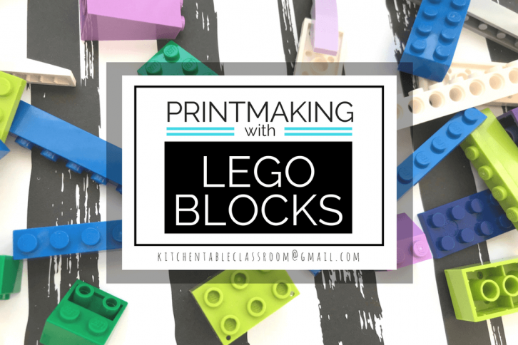 printmaking with legos Archives - The Kitchen Table Classroom
