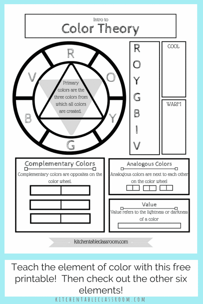 It's just a picture of Printable Color Wheel Pdf for primary