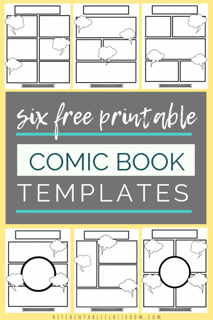 comic book templates for kids