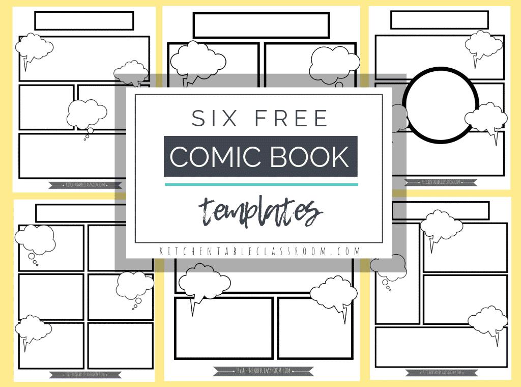 comic book printables