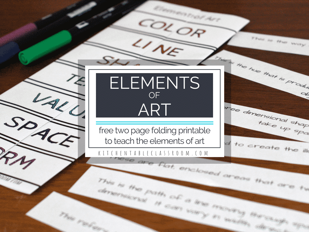 Line The Art Element : Elements of art definitions & free printable resources the kitchen