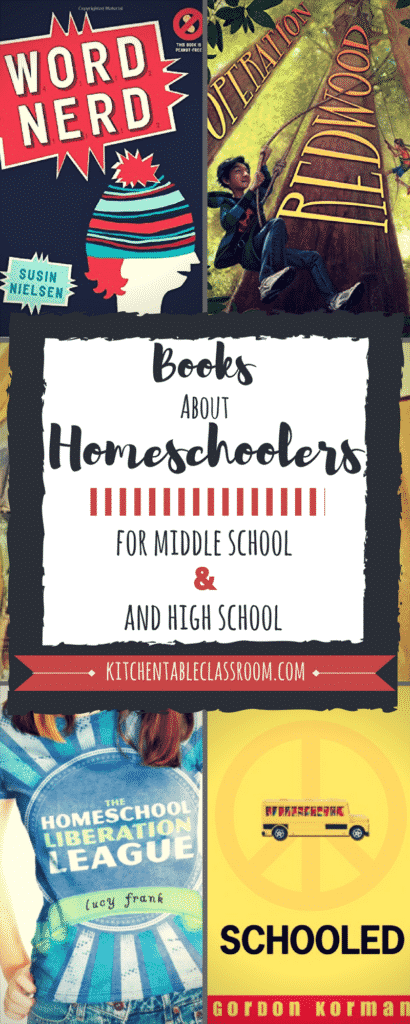 Everyone wants to fit in somewhere.That's why I set out to find booksabout homeschoolers as characters appropriate for your middle and high school student!