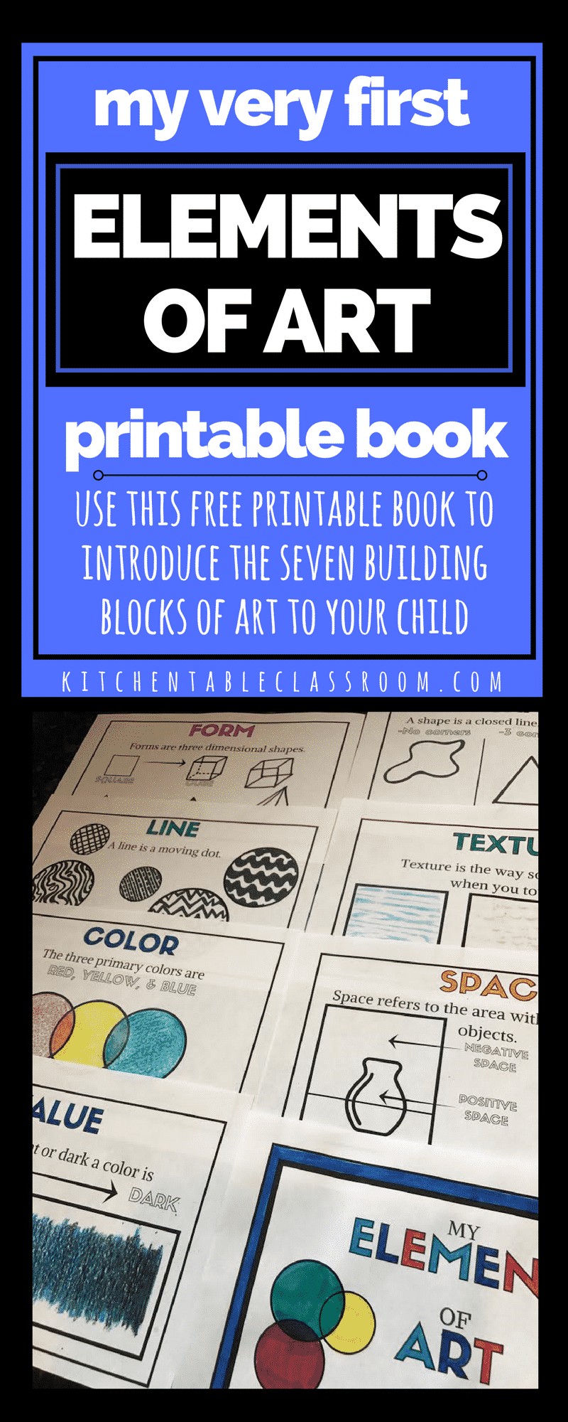 Elements Of Art For Kids : Element book pinterest the kitchen table classroom