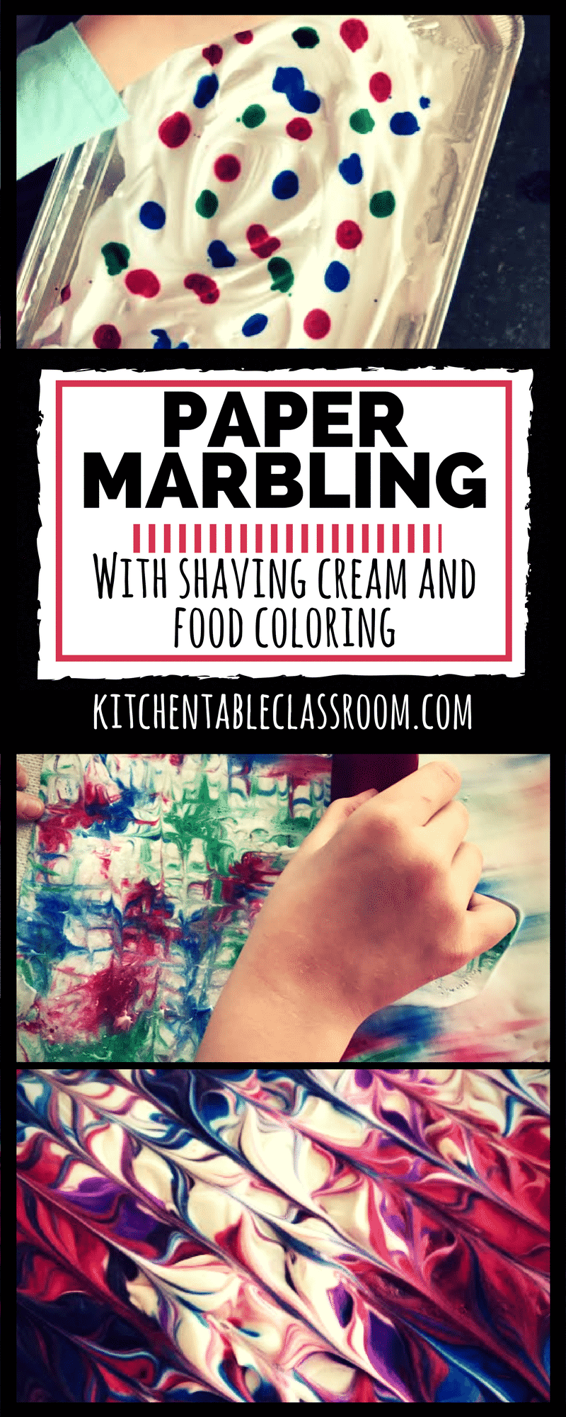 Explore the art of paper marbling without even opening your craft cupboard.You may have to dig in your pantry and medicine cabinet, but you've got it all!