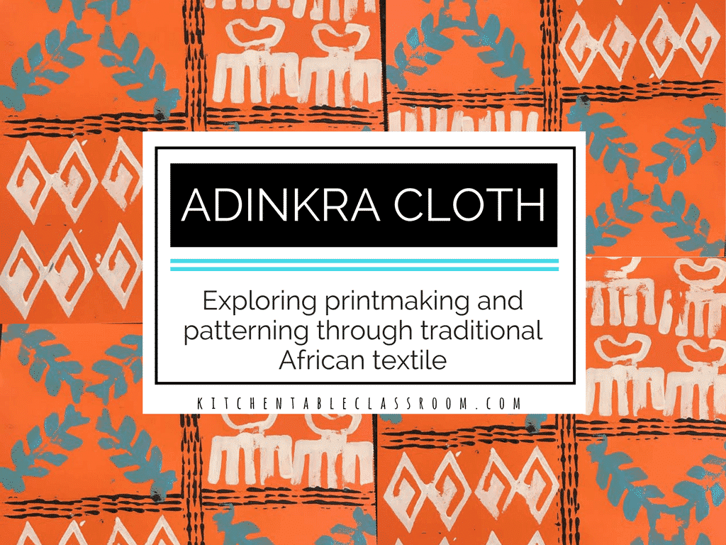 Adinkra Symbols Exploring Printmaking And Patterning Through