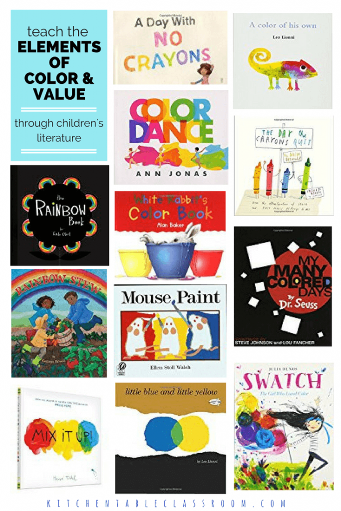 Children\'s Books about Art Elements - The Kitchen Table Classroom