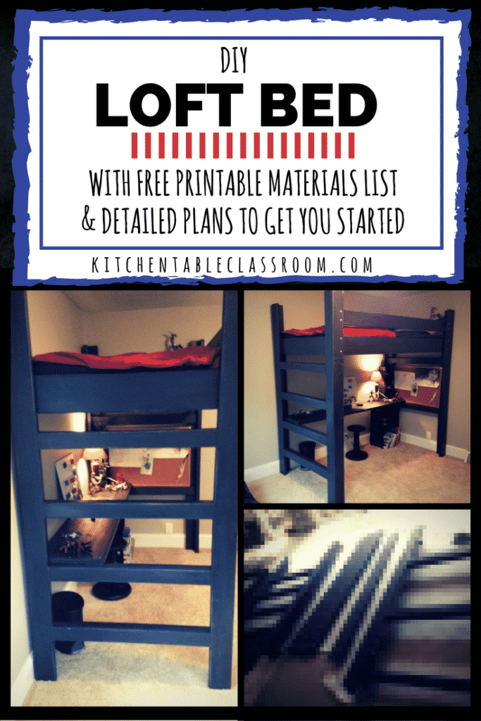 Project Lofted Bed The Kitchen Table Classroom