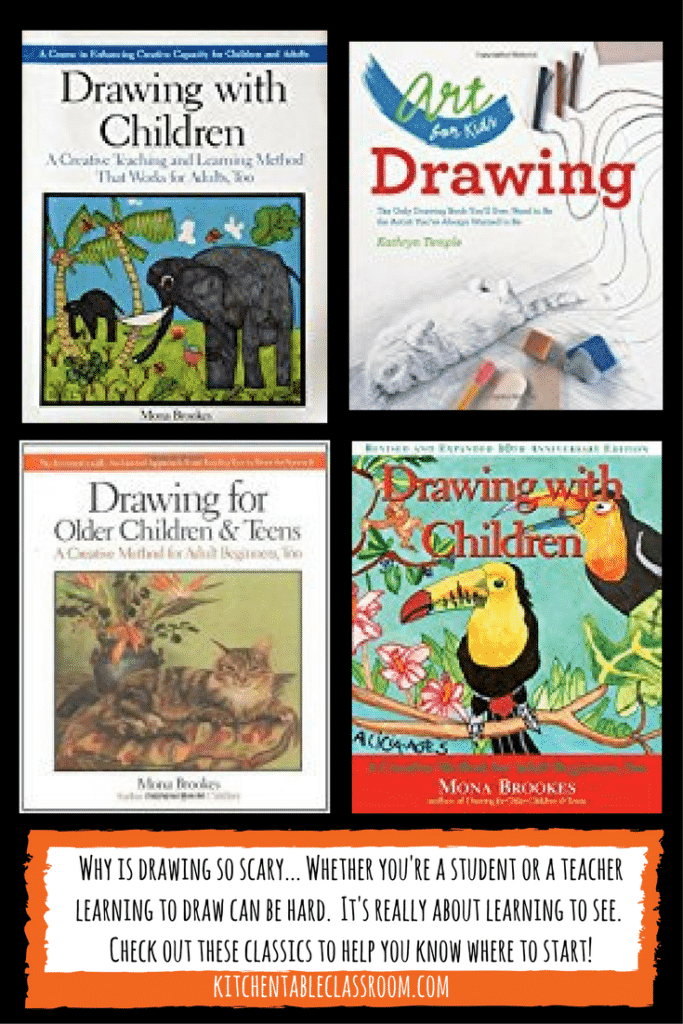 This list of art books is for those mamas that maybe don't consider themselves artists. These art books can inspire a single lesson or an entire curriculum.