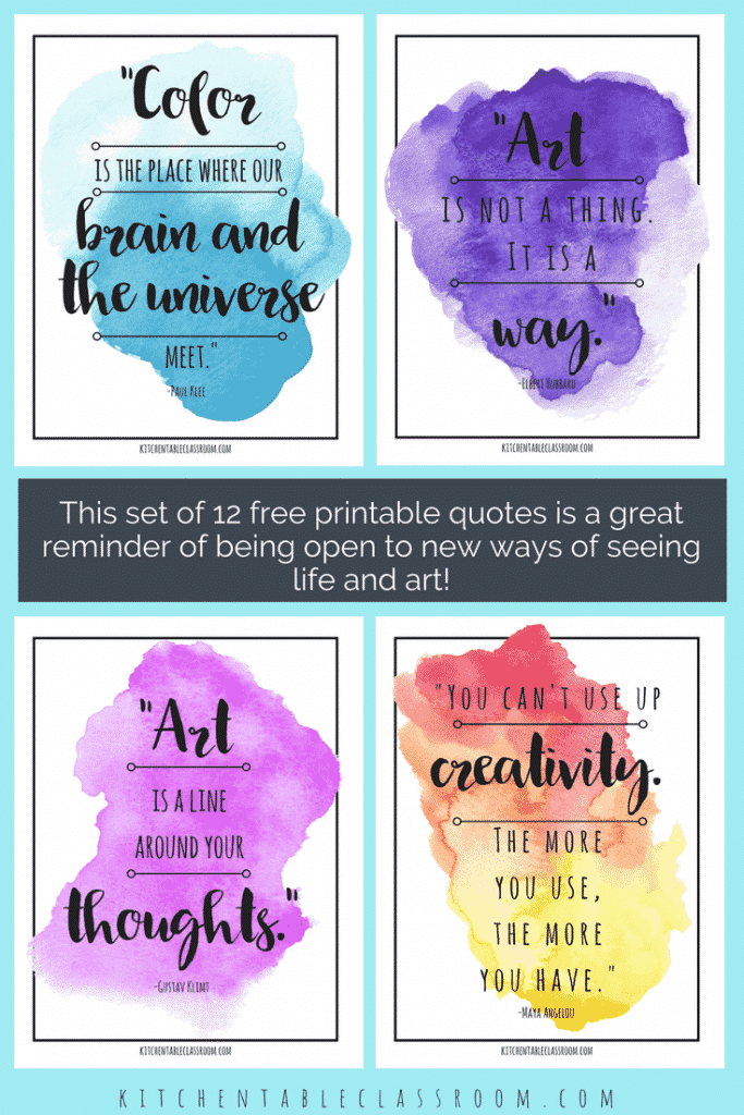 Famous Artist Quotes Art Quotes To Inspire Creativity The Kitchen