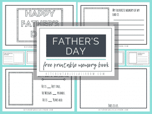 These fathers day free printables are a simple way for your child to make a special keepsake gift. A version for dad's plus one for other special people!