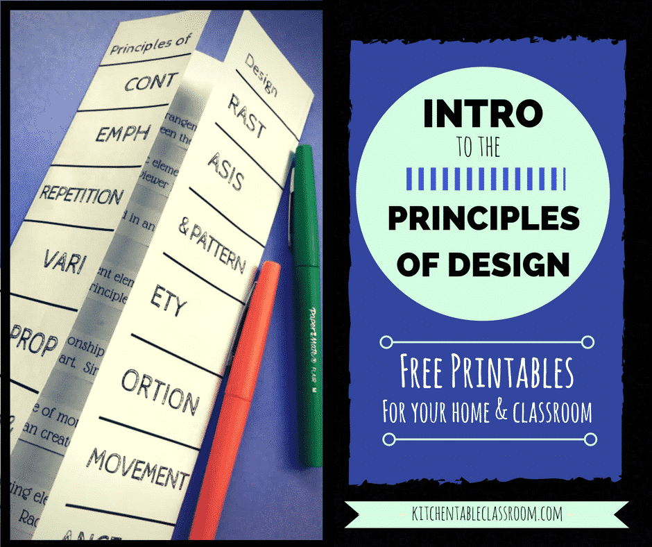 An Introduction To The Principles Of Design For Kids