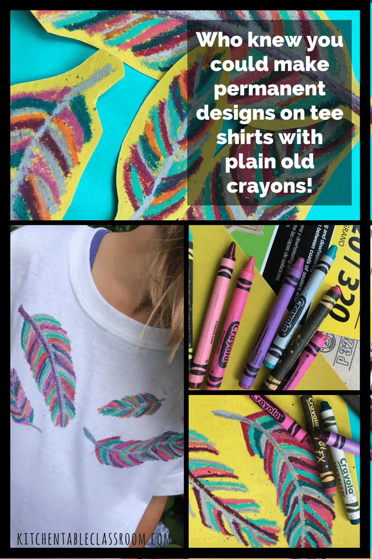 Who knew you could make permanent designs on tee shirts ...