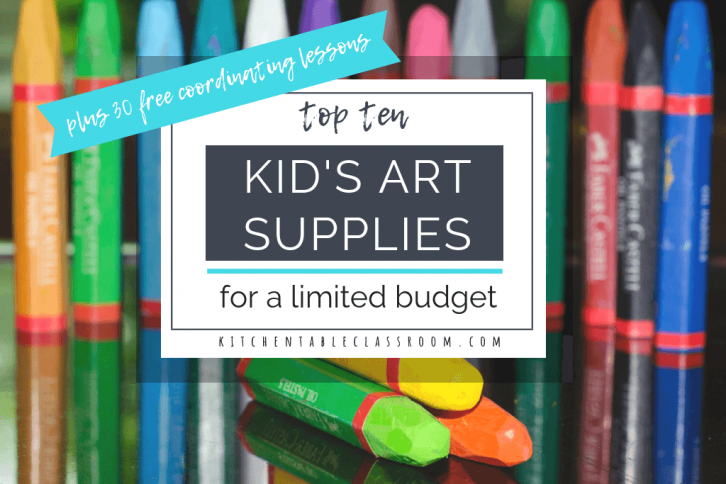 kid's art supplies Archives - The Kitchen Table Classroom