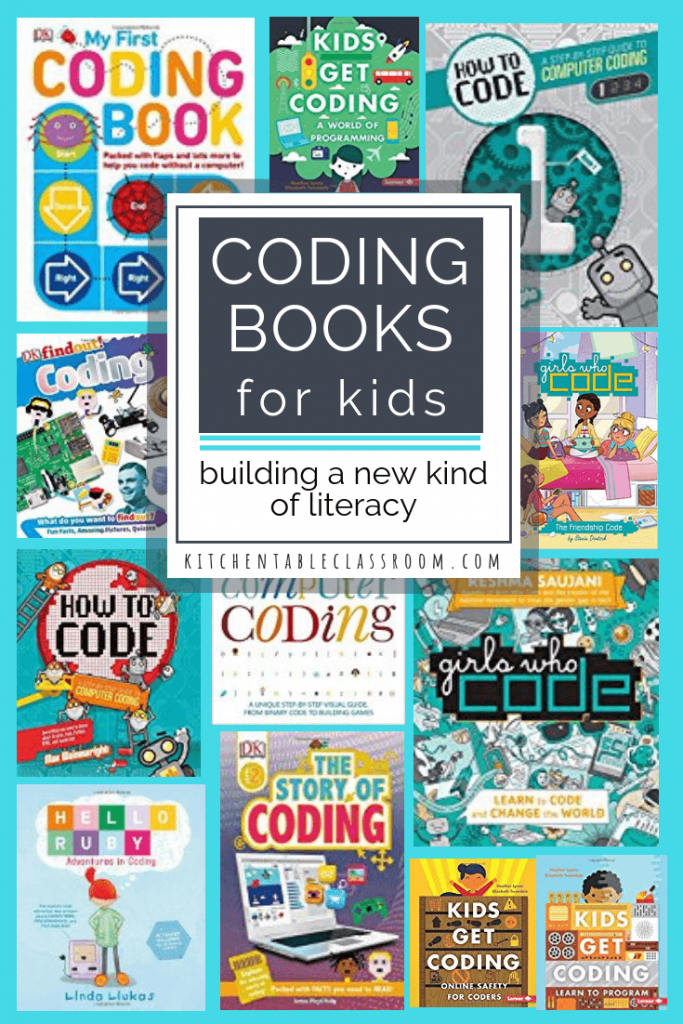 Using creative resources, such as these coding books for kids, is a fun way to stay on top of the technology wave and build computer literacy!