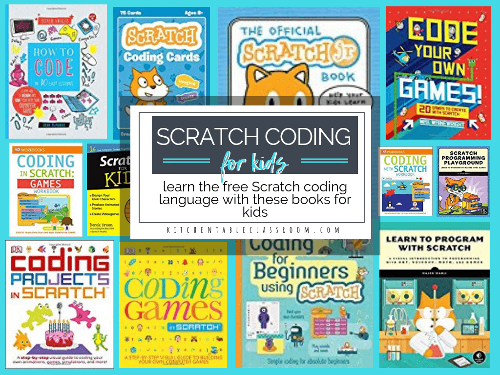 Scratch Programming Books- Coding Books for Kids - The