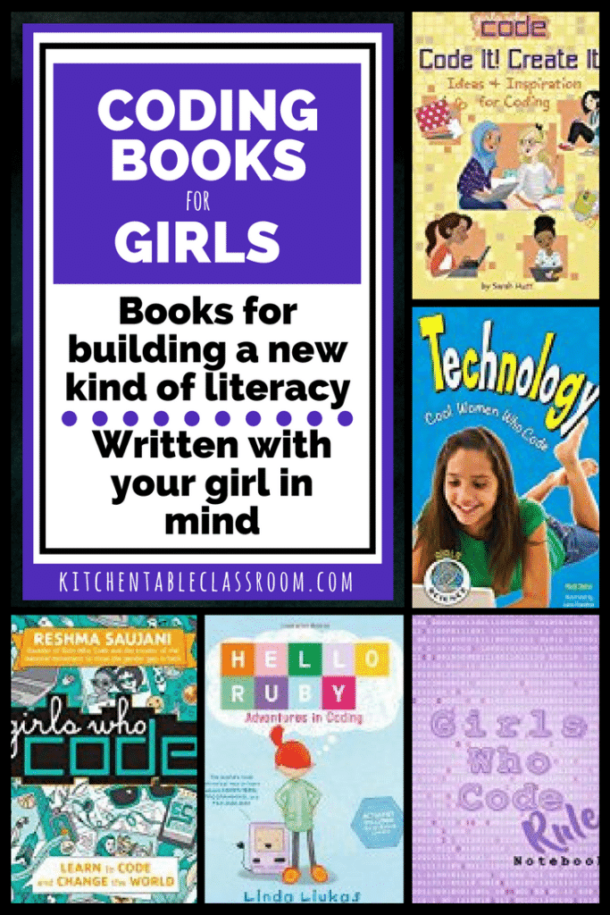 Using creative resources, such as these coding books, ensures that your child stays on top of the technology curve while growing their own literacy skills.
