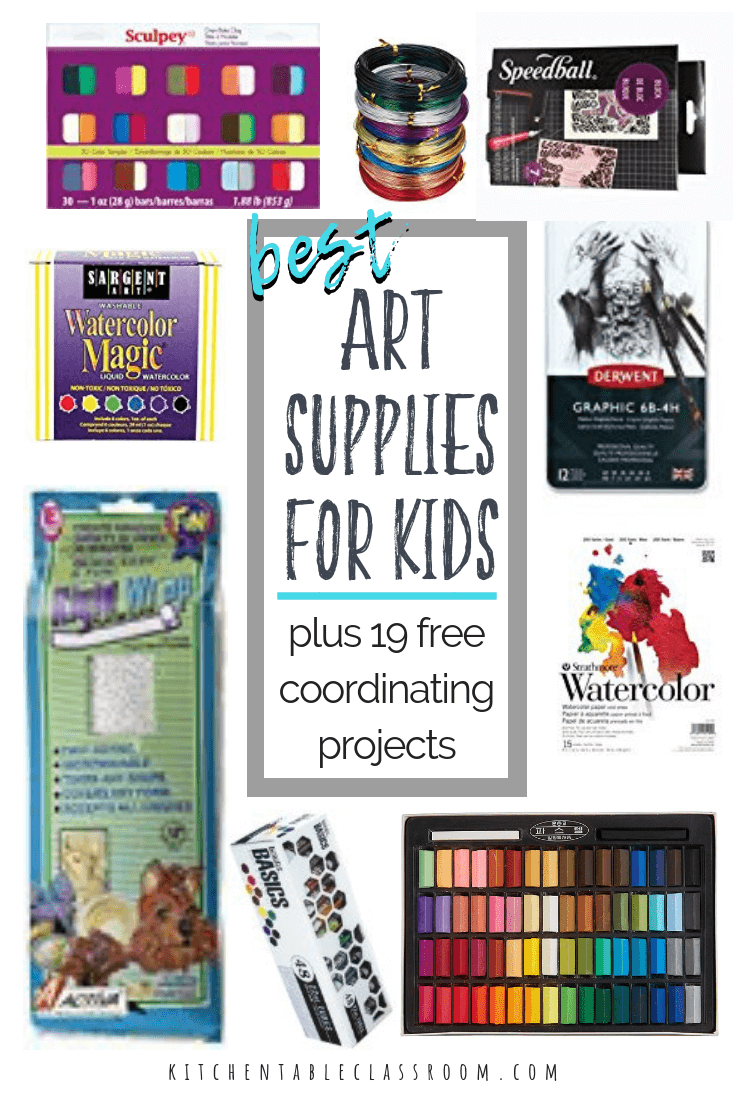 Art Supplies List Art And Craft Materials 2 The Kitchen Table