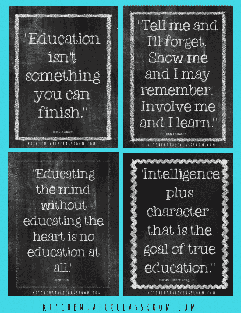 Education Quotes Free Printables To Inspire A Love Of Learning