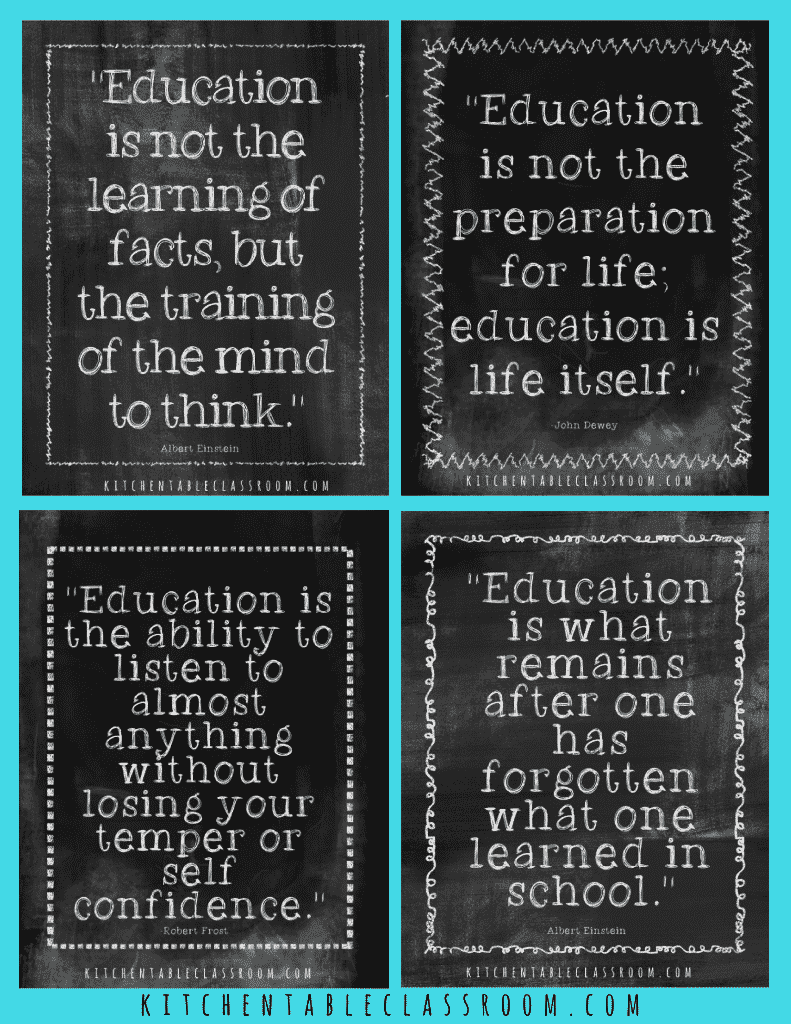 Education And Life Quotes Delectable Education Quotes Free Printables To Inspire A Love Of Learning