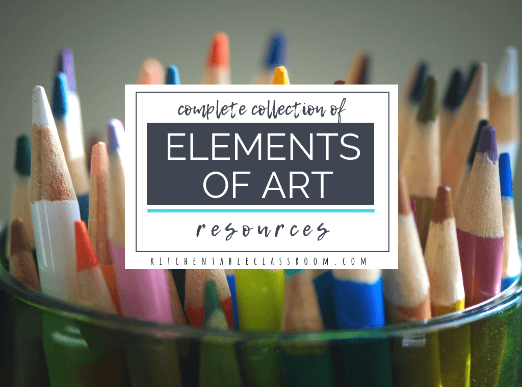 Teach line, color, value, shape, form, space, & texture with this huge collection of free elements of art worksheets! Plus hands on art projects that relate