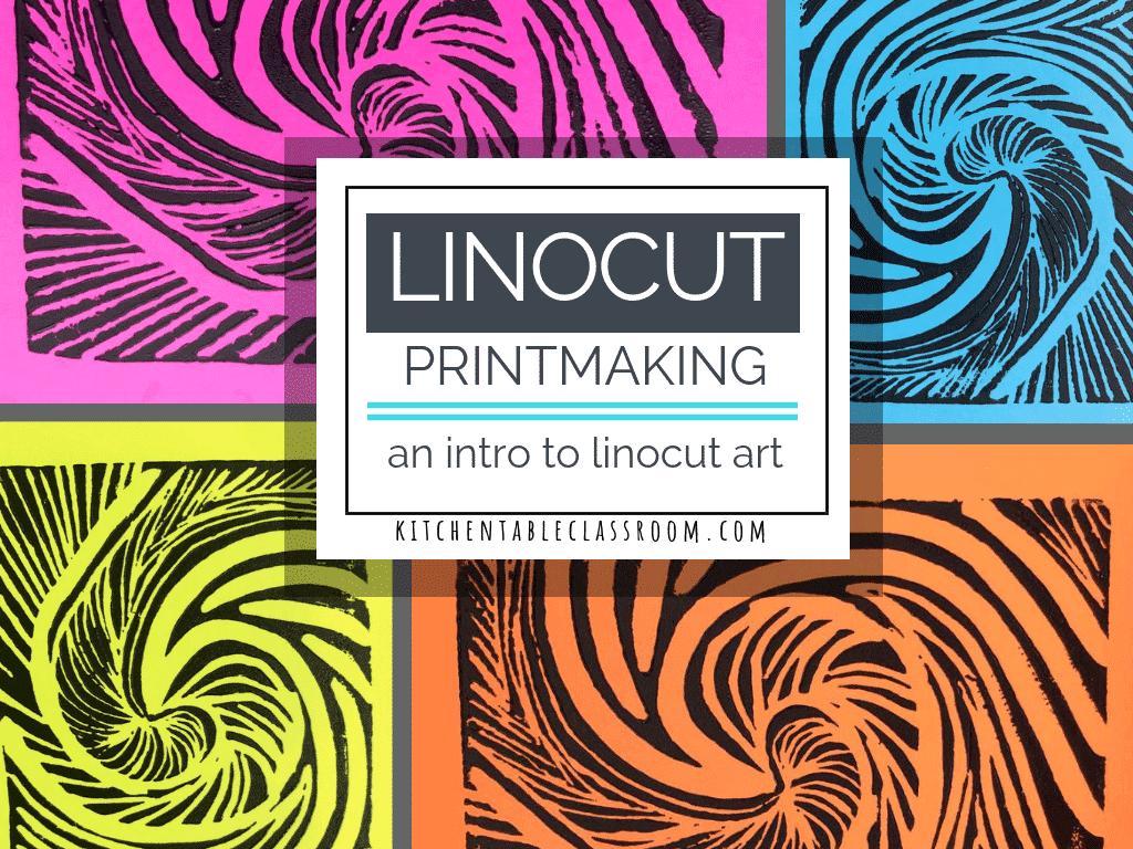 Lino printmaking an easy introduction to linocut art