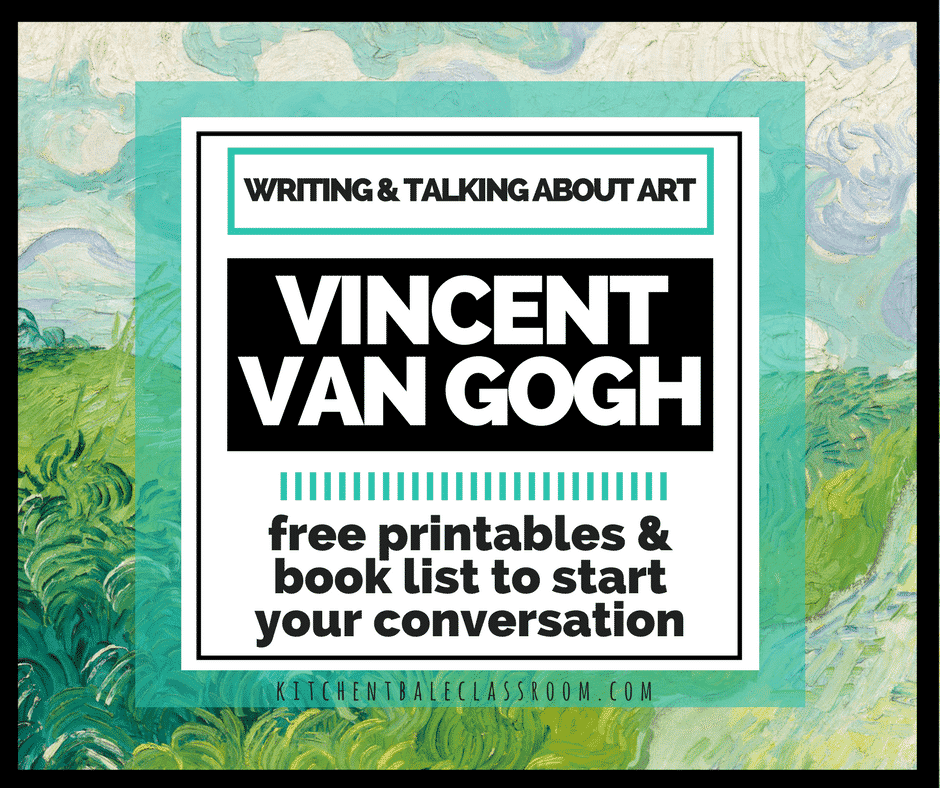 talking and writing about artwork