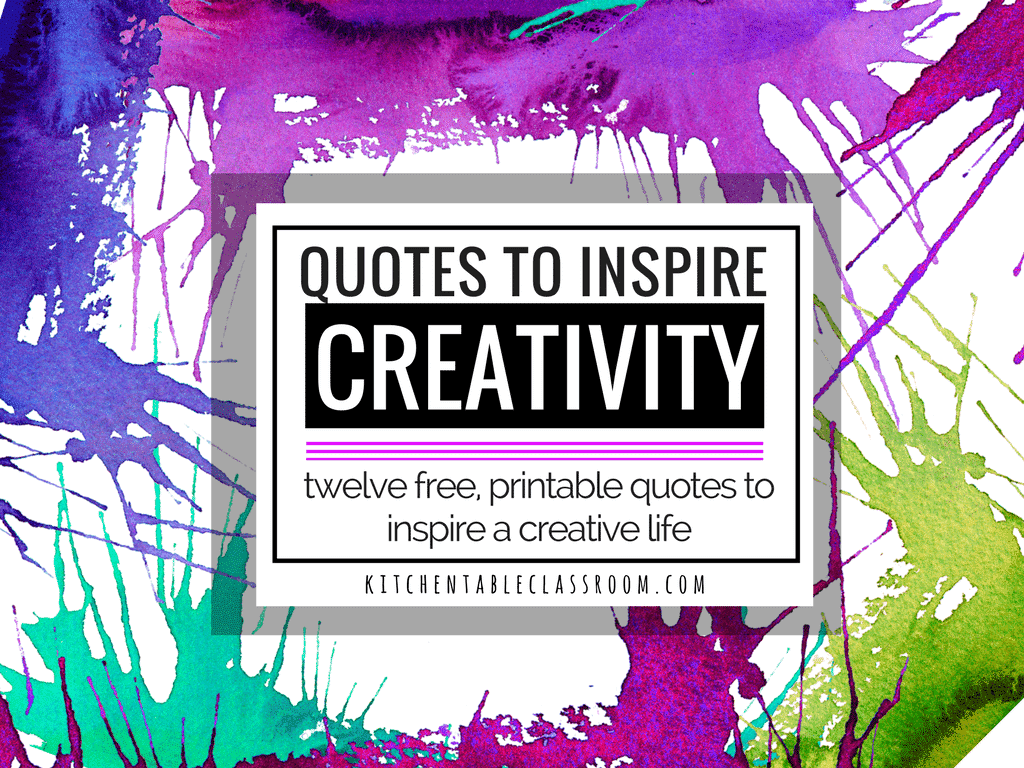 Creativity Quotes- Learning to Think Outside the Box - The