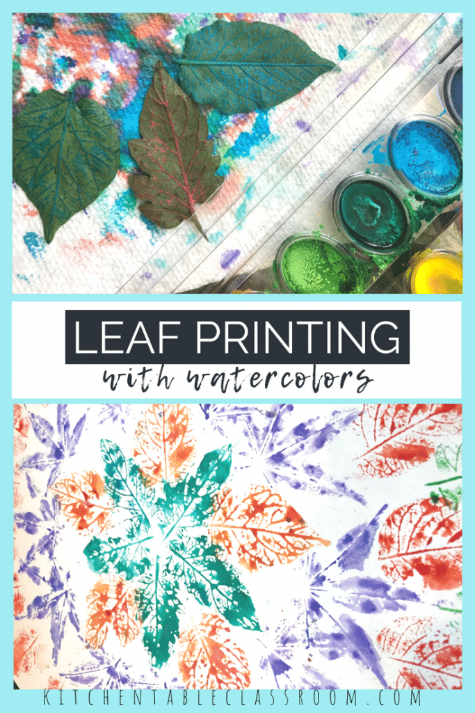 Take advantage of nature's beauty. This simple leaf printmaking project only requires watercolor pains & creates an amazing leaf mandala design!