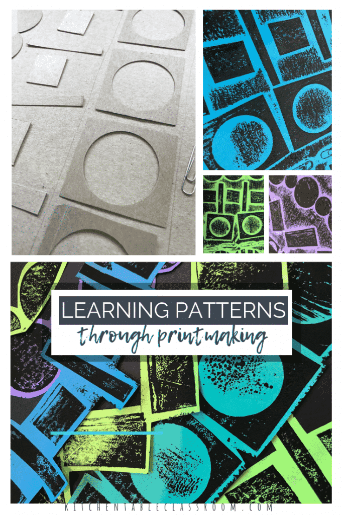Learn patterns through this fun printmaking project.  Explore how shapes and patterns are connected and see how patterns exist in nature, art, and life.
