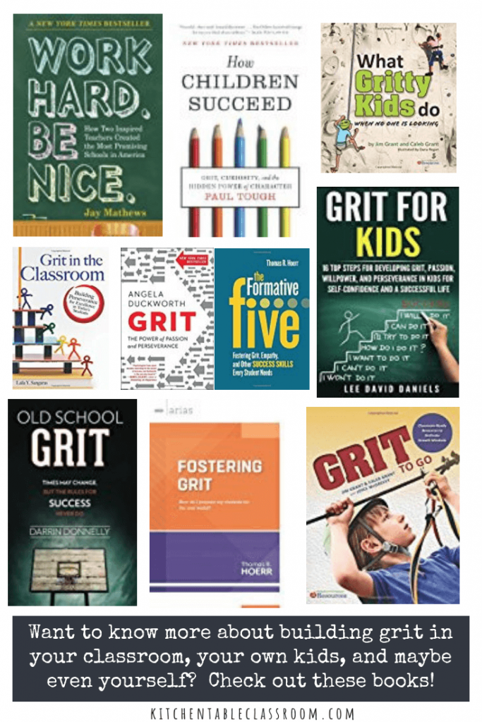 books about developing grit in kids