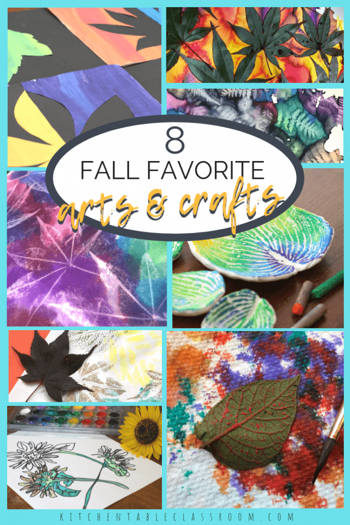 These fall art projects showcase the best the season has to offer. These simple fall crafts use simple materials to take advantage of nature's beauty!