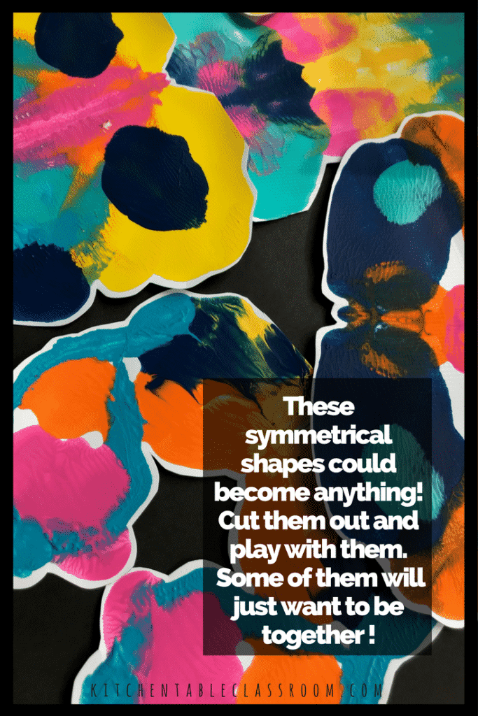 Symmetry is a term your child will hear in math, art, and in science. It's a concept worth learning. This playful approach will drive the concept home.