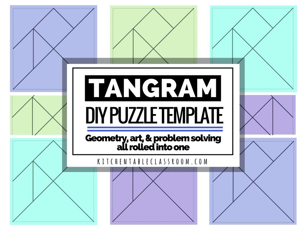 diy tangram free printable template inspiration