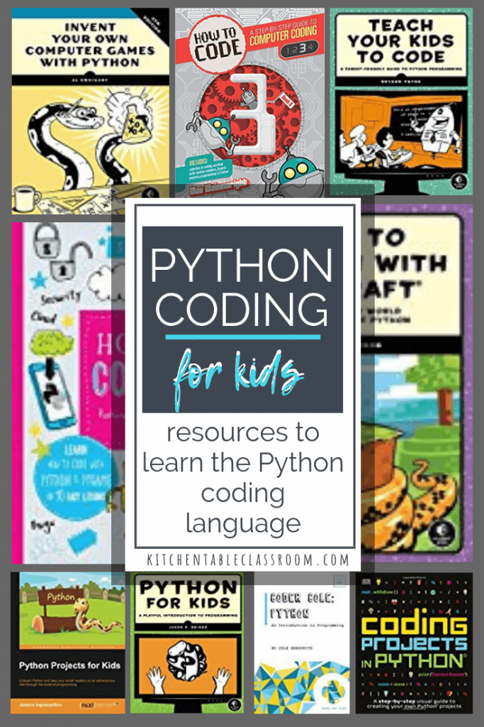 Python Programming for Kids- Best Coding Books to Teach - The