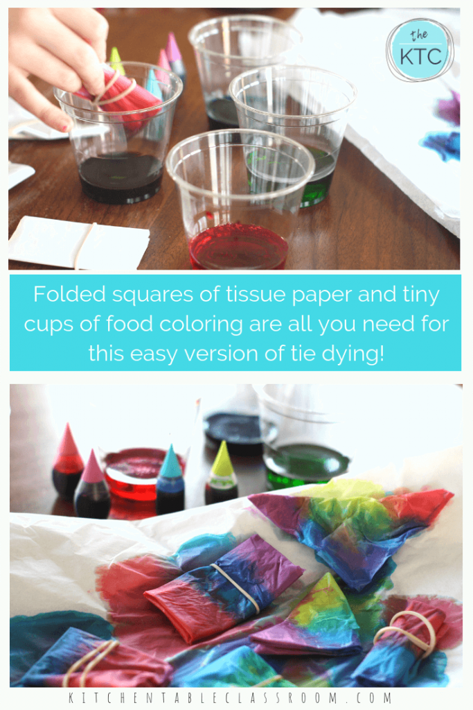 bfd6fe64ca82 Try this super easy tie dye process perfect for kids. Create amazing tie dye  designs