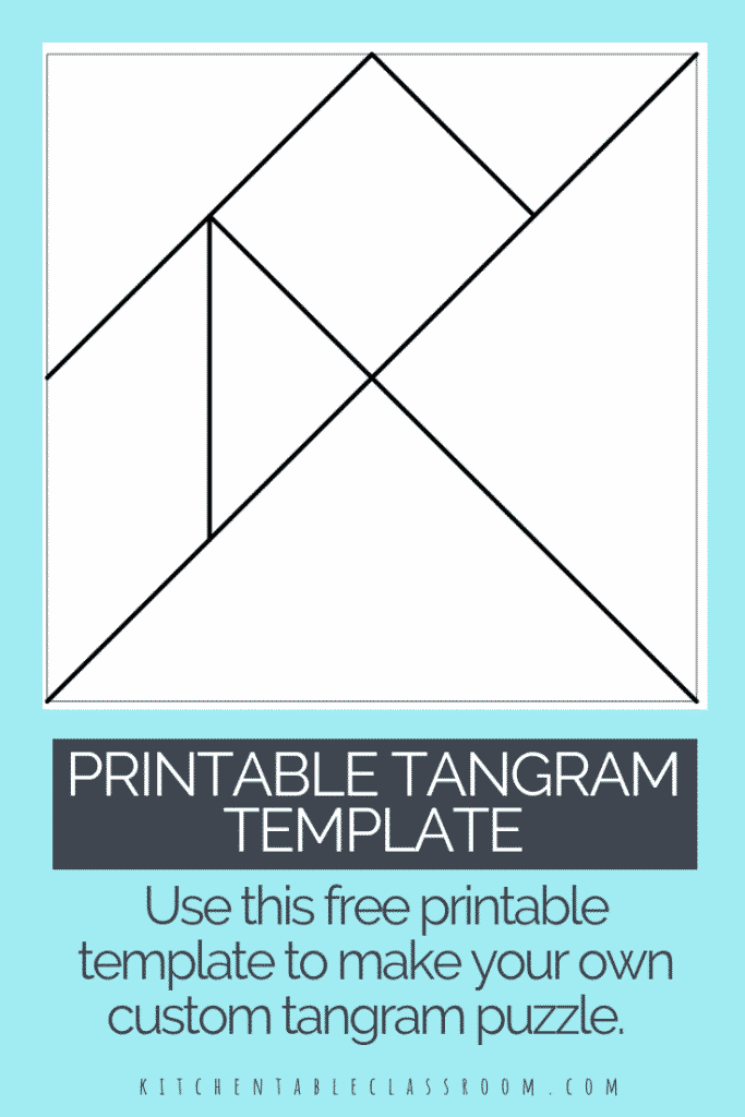 printable tangrams - an easy diy tangram template
