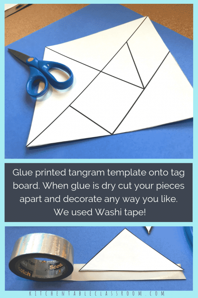 photo regarding Printable Tangram Puzzle Outlines named Printable Tangrams - An Very simple Do it yourself Tangram Template - The