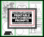 sketchbook christmas facebook
