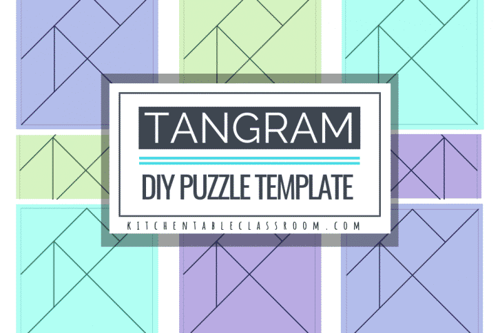 graphic about Tangram Puzzles Printable named STEAM Archives - The Kitchen area Desk Clroom