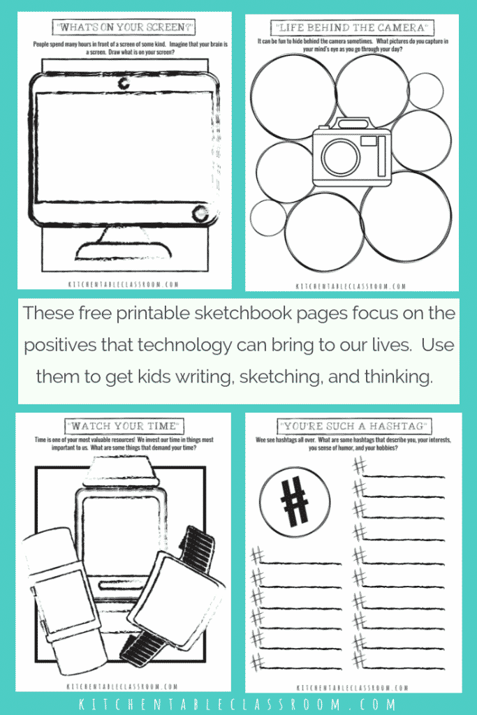 image about Printable Technology identified as Sketchbook Recommendations and Printables for the Engineering Husband or wife