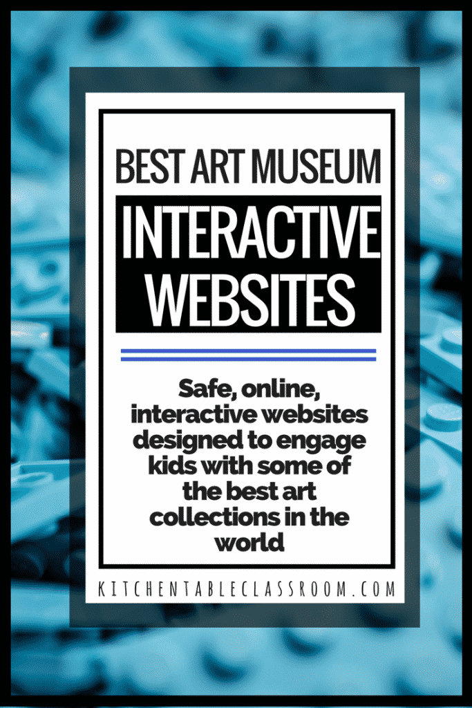 Check out these awesome art museum websites that offer interactive, online fun designed to expose and engage your kiddo with the art in their collection.