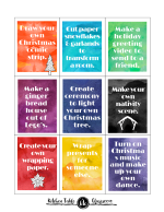 advent cards decorated PNG 1