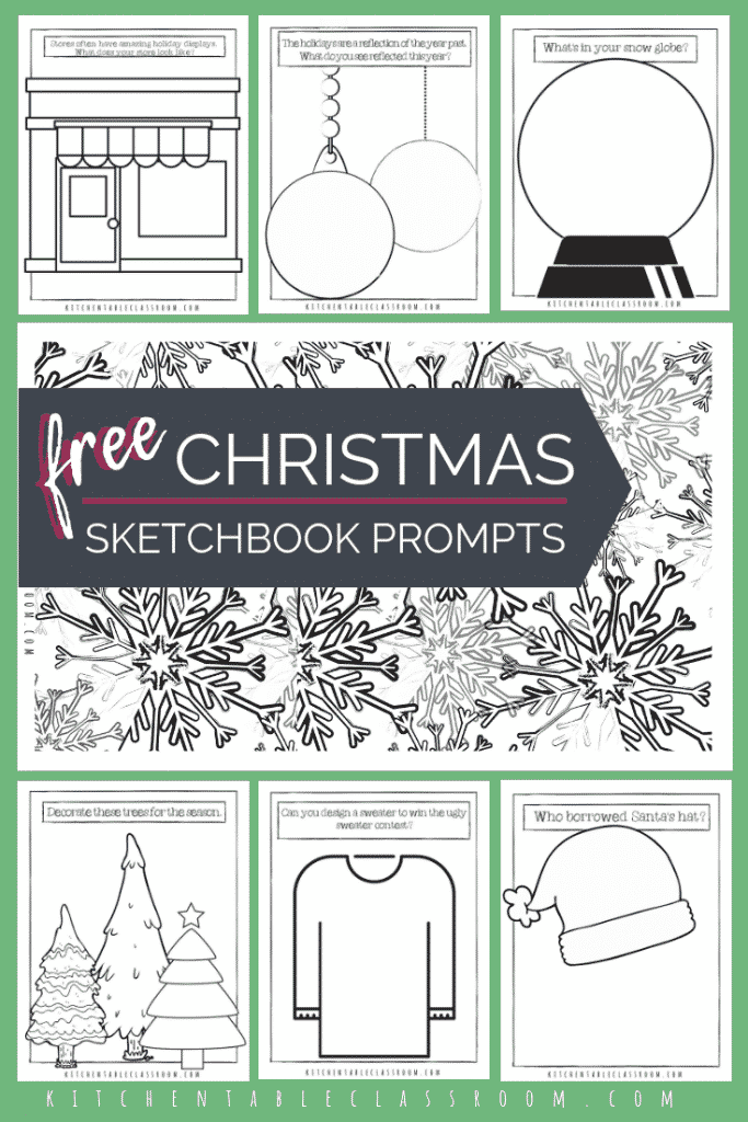 Use these Christmas coloring sheets to get your kids in the holiday spirit & get creative juices flowing! Seven free Christmas coloring page printables!