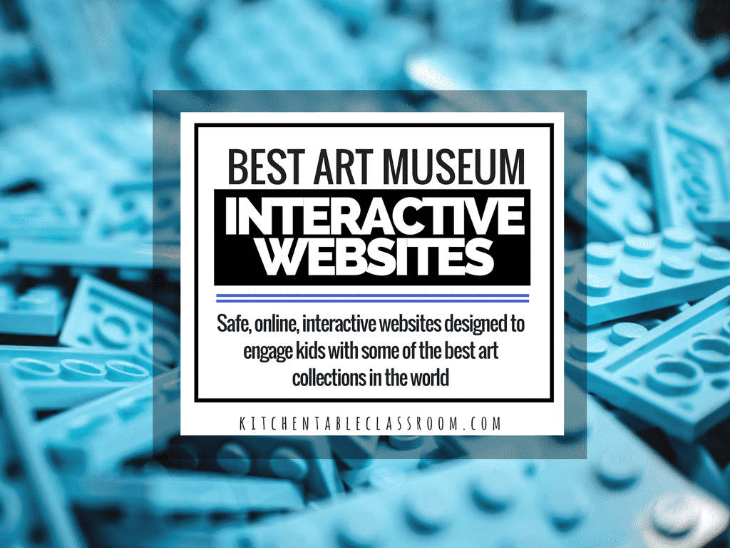 Best art museum websites for kids for interactive online for The best artist websites