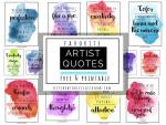 Artist quotes facebook
